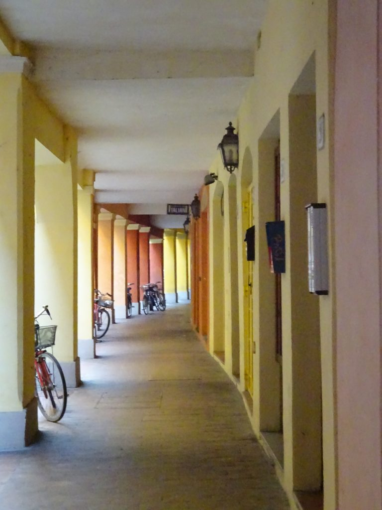 Porticos and bicycles