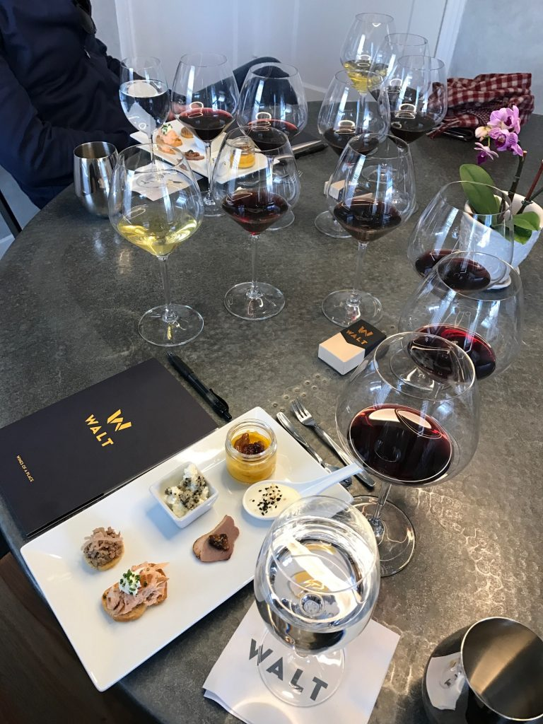 Root 101 wine and food pairing at WALT Wines